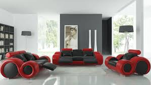 Red And Black Living Room Home Design 89 Amazing Contemporary Office Desks
