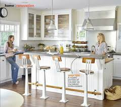 height of kitchen island counter vs bar height centsational style