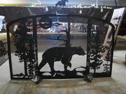 fireplace screens and fire pit screens mason u0027s metal creations