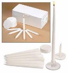 candlelight service kit congregational pastor and usher candles