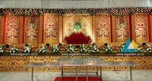 Wedding Reception Stage Decoration Images Reception And Marriage Stage Decoration At Nt Mahal 100ft Road