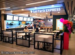 more than 14 halal makan places at the new singpost centre the