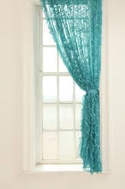 curtains amazing turquoise kitchen curtains kitchen cafe