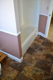 Linoleum For Bathroom One Thing Leads To Another Mostly Diy Bathroom Repair And