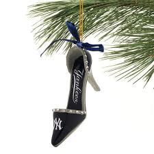 new york yankees team high heel shoe ornament new york