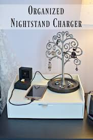 Easy Diy Nightstand Phone U0026 Usb Charger Simply Darr Ling