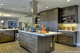pickled oak kitchen cabinets pickled oak kitchen cabinets clean warm kitchen pickled oak