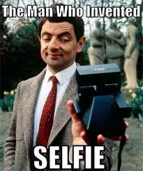 Selfie Meme - the man who invented selfie mr bean meme picsmine