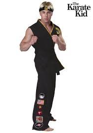 authentic karate kid cobra kai costume men halloween costumes