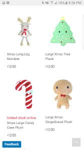 christmas plush kmart wow toys pinterest