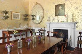 dining room wallpaper ideas georgian dining table with gold wallpaper dining room ideas