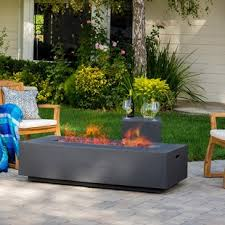 Contemporary Firepit Modern Outdoor Fireplaces Allmodern