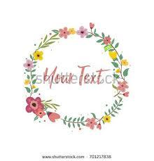 invitation greeting wedding invitation greeting card circle vector stock vector