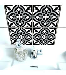 stickers pour carrelage mural cuisine stickers muraux carreaux de ciment great sticker ginette beige with