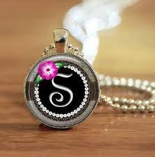 necklace pendants letters images Letter necklace letter keychain letter pendant letter jpg