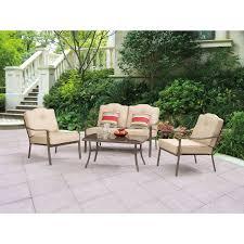 4 piece patio furniture sets patio tables walmart canada home outdoor decoration