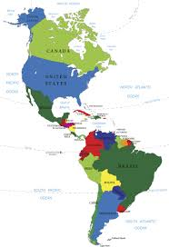 South America Map With Countries by Service Countries Budget Housing Program