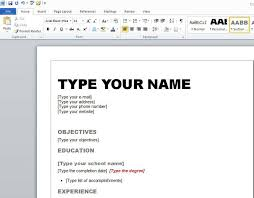 Free Online Resume Templates For Word How Do I Make A Resume For Free Resume Template And Professional