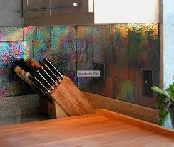 oceanside glass tile raku iridescent kitchen backsplash kitchen