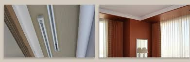 stunning design ideas curtain track system curtain track systems