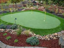 Fake Grass For Backyard by Top 25 Best Artificial Putting Green Ideas On Pinterest Putting