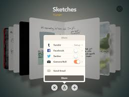 fiftythree launches redesign of its paper drawing app for ipad