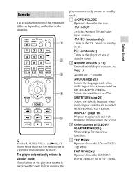 sony rmt b119a remote control manual electro help