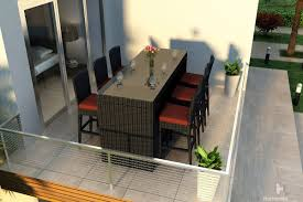 11 Piece Patio Dining Set - harmonia living urbana outdoor 7 piece bar set wickercentral com