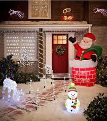 Outdoor Christmas Decorations Front Porch by 253 Best Outdoor Christmas Decorations Images On Pinterest