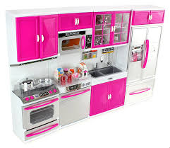 Kitchen Sets For Girls Amazon Com My Modern Kitchen Full Deluxe Kit Battery Operated Toy