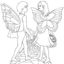 fairy coloring pages coloringsuite com
