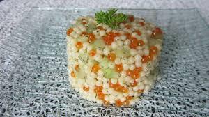 cuisine de perle salade de perles de la mer choutambouilletout