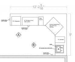 standard kitchen island size standard kitchen island size
