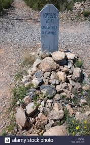 tombstone arizona usa april 6 2015 boot hill cemetery old