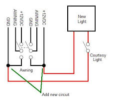 installing a step well courtesy light