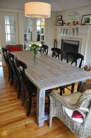 Diy White Dining Room Table White Wash Dining Room Table