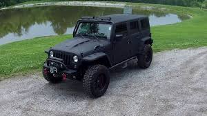 black customized jeep wranglers custom jeep wrangler kevlar sprayed youtube