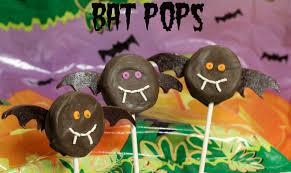halloween oreo pops bats u0026 pumpkins