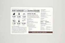 wedding itinerary wedding timelines archives nesting project