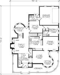 Garage Home Floor Plans by Kirkland Old World Home Plan 072d 0995 House Plans And More