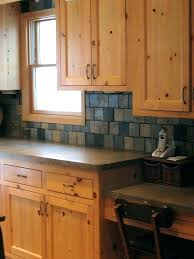 Knotty Pine Kitchen Cabinet Doors Pine Kitchen Cabinets Antique Pine Farmhouse Traditional Kitchen