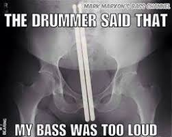 Drummer Meme - mark marxon meme monday the drummer said that my bass was too