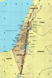 Map Of Israel In Jesus Time Maps And Charts