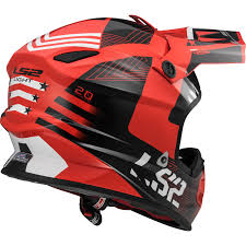 motocross helmet light ls2 helmet mx456 light rallie orange black black orange l ebay
