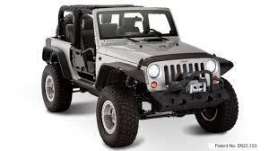 2011 jeep wrangler fender flares bushwacker flat style fender flares 2007 2016 jeep wrangler 2