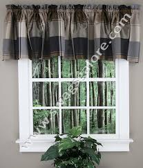 Country Plaid Valances Plaid Country Valance Burgundy United Curtain View All Valances