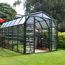 8 X 12 Greenhouse Kits Rion Grand Gardener 2 Clear 8 U0027 X 12 U0027 Polycarbonate Greenhouse