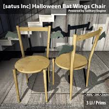new release halloween bat wings chair by satus inc teleport
