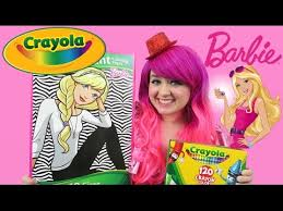 barbie giant coloring page crayola coloring book coloring with