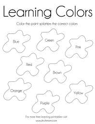 sheets colors coloring pages 46 on free colouring pages with